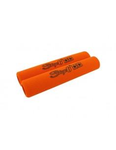 Coppia spugne leve freno STAGE6 arancio
