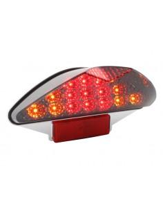 Fanale STR8 BLACK-LINE LED con freccie x MBK Nitro/Yamaha Aerox