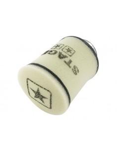 Filtro aria STAGE6 Double-Layer bianco tondo imbocco Ø 70mm