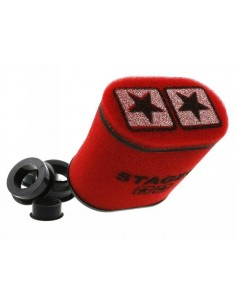 Filtro aria STAGE6 Double-Layer rosso versione ovale