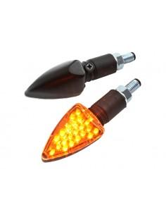 Frecce STR8 R1 LED omologate nere