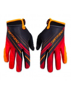 Guanti DEFT FAMILY catalyst 2 proper glove rosso/arancio tg S