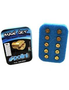 Kit 10 getti massimo POLINI x Dellorto 5mm da 110 a 128