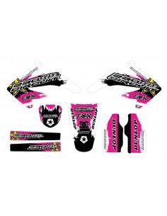 Kit adesivi grafiche Circuit Pink HM 50 2006/2018