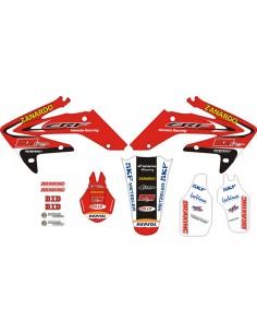 Kit adesivi grafiche CRF 250 06/09 HM Petrogalli Racing Zanardo