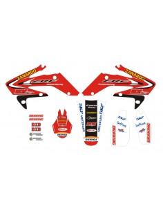 Kit adesivi grafiche CRF 250 06/09 HM Racing Zanardo