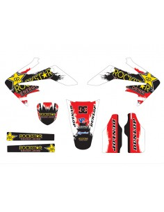 Kit adesivi grafiche Rockstar DC HM 125 red inverted