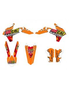 Kit adesivi grafiche SOCAL fluo 2014 x KTM exc 2014 sx 20113/15