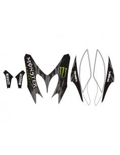 Kit adesivi grafiche Yamaha Aerox / MBK Nitro Monster combo B