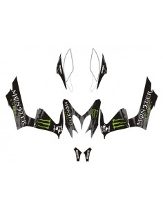 Kit adesivi grafiche Yamaha Aerox / MBK Nitro Monster full combo