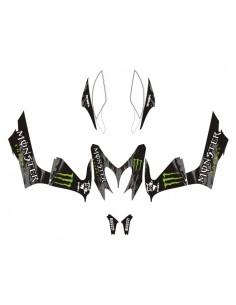 Kit adesivi grafiche Yamaha Aerox / MBK Nitro Monster full combo