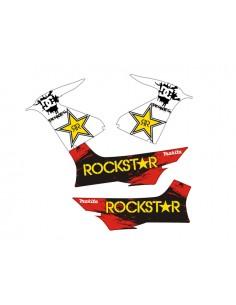 Kit adesivi grafiche Yamaha Aerox / MBK Nitro Rockstar combo A