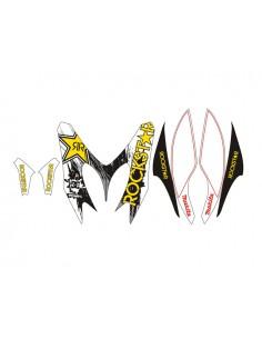 Kit adesivi grafiche Yamaha Aerox / MBK Nitro Rockstar combo B