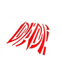 Kit adesivi R&D Replica arancio fluo x Piaggio Zip 2° serie
