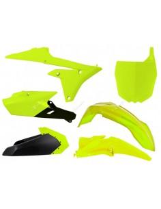 Kit plastiche giallo fluo neon Yamaha RACETECH x YZF 250-450 2014/2016