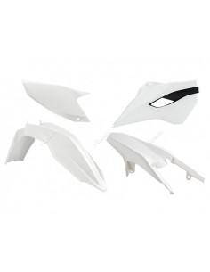 Kit plastiche RACETECH bianco/nere x HUSQVARNA te-fe 125-250-300-350-450-501 2015/2016