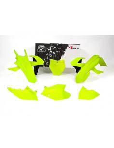 Kit plastiche RACETECH giallo fluo neon x KTM sx-sxf 2016