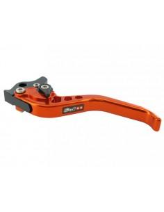 Leva freno sx Stage6 CNC arancio x Aerox/ Nitro