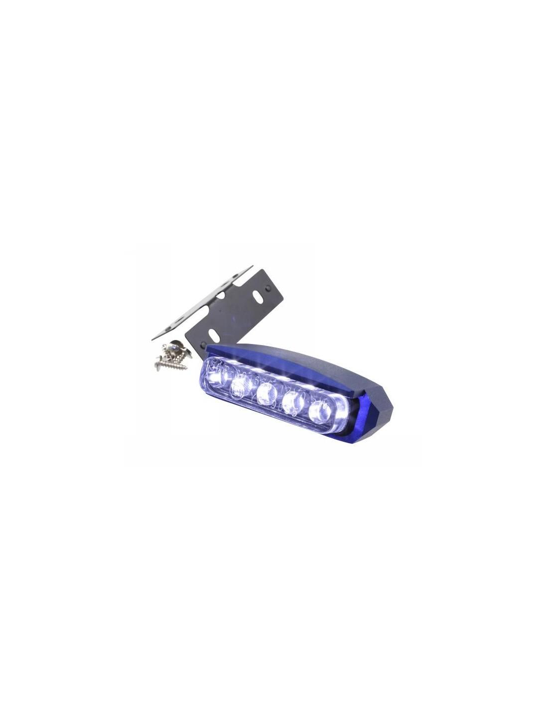 Luce targa str8 a led omologato ce blu for Luce led blu
