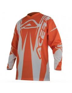 Maglia gara ACERBIS moto brand arancio tg XL
