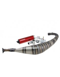 Marmitta VOCA Rookie 50/70cc (CE) Minarelli AM6 red silencer