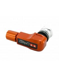 Valvola ruota CNC 90° STAGE6 arancio