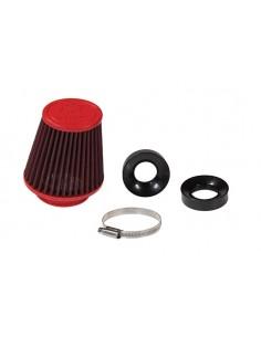 Filtro aria MALOSSI E18 imbocco Ø 60 lunghezza 125mm x carburatori Dellorto PHBG 15-21 - PHBL 20-26