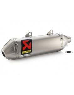 Silenziatore AKRAPOVIC Slip-on line x Ktm sx-f 250 16/17