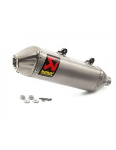Silenziatore AKRAPOVIC Slip-on line x Ktm 250-350 exc-f 17