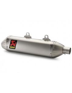 Silenziatore AKRAPOVIC titanium slip-on line x Ktm 450-500 exc 14/16