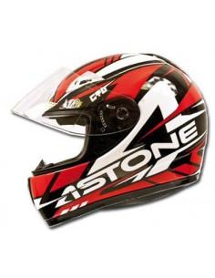 Casco ASTONE GTO booster rosso tg XL