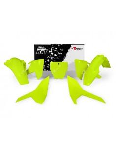 Kit plastiche RACETECH giallo fluo neon x Husqvarna 2017