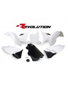Kit plastiche bianche Yamaha RACETECH REVOLUTION x YZ 125/250 2002/2017