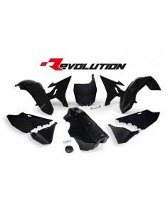 Kit plastiche nere Yamaha RACETECH REVOLUTION x YZ 125/250 2002/2017