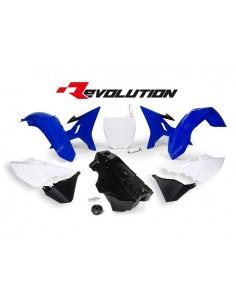 Kit plastiche replica blu Yamaha RACETECH REVOLUTION x YZ 125/250 2002/2017