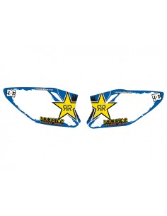 Kit adesivi tabelle Rockstar blue HM 50 2003/2019