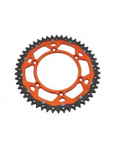 Corona MOOSE RACING nera arancio x KTM exc - sx