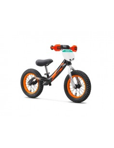 Bicicletta bimbo KTM 2018 kids training bike nera arancio