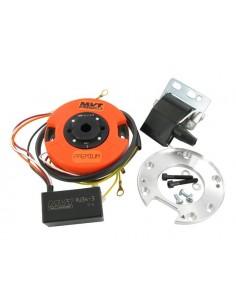 Accensione a rotore MVT DD con luci x Minarelli AM6 MBK/YAMAHA EU2 con batteria 12V di serie