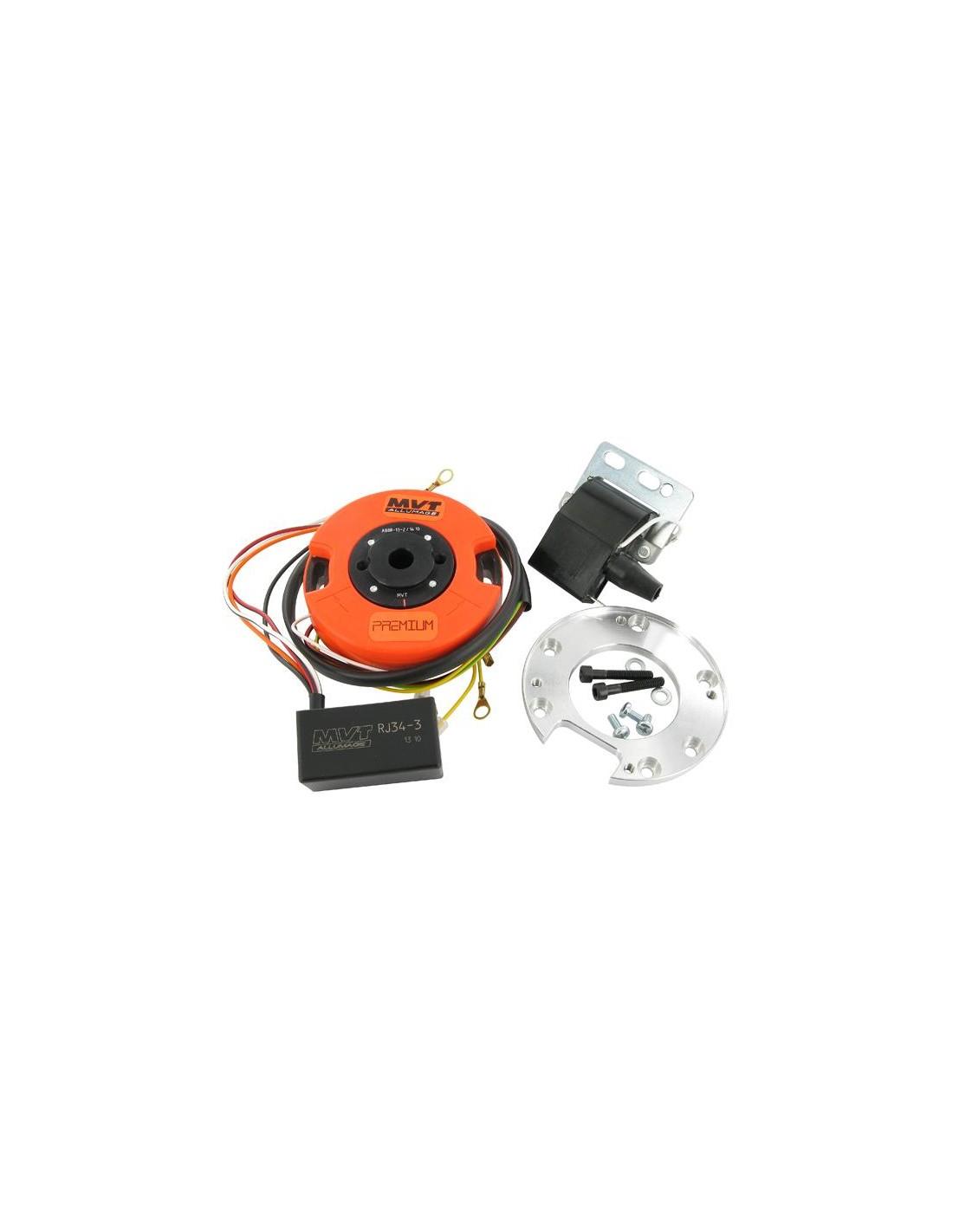 Schema Elettrico Beta Rr 50 : Accensione a rotore mvt dd con luci minarelli am mbk