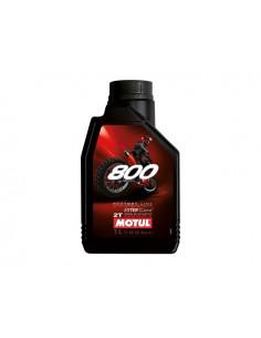 1 lt olio miscela MOTUL 800 Off Road 100% sintetico