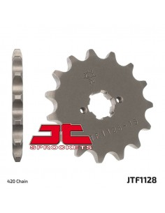 Pignone JT Z11 in acciaio passo 420 x Derbi D50B0
