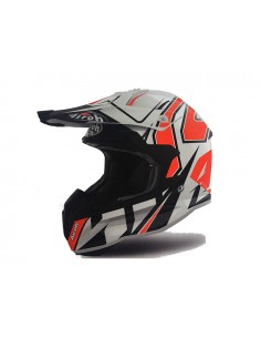 Casco AIROH 2019 Terminator open vision Shock orange gloss