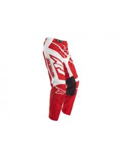 Pantalone bimbo sr AXO bianco rosso
