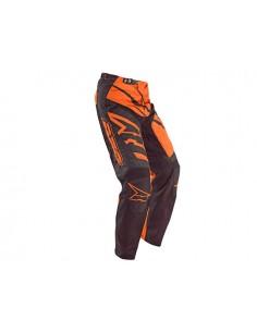 Pantalone bimbo sr AXO nero arancio