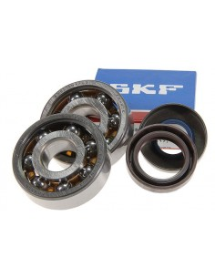 Set cuscinetti e paraoli STAGE6 in teflon x Minarelli Am6