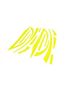 Kit adesivi R&D Replica giallo Fluo x Piaggio Zip MKII