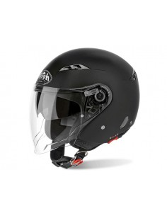 Casco AIROH 2018 city one color black matt