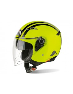 Casco AIROH 2018 city one flash yellow gloss