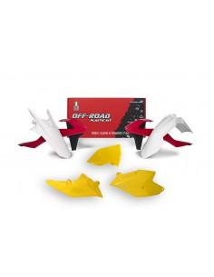 Kit plastiche RACETECH rosso giallo x KTM EXC-EXCF-XC/W 250-300-350-450-500 2017 XC/W 125-150 2017 5 Pezzi